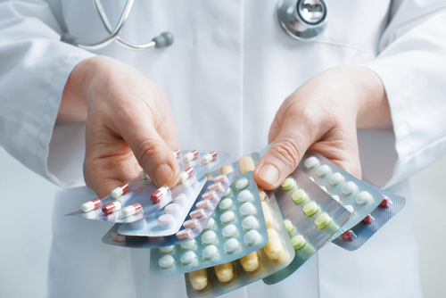 Prescription medication instructions at Optimum Oral Surgery Group, in Moorestown, NJ